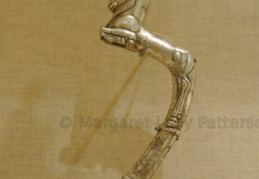 Vessel Handle in the Shape of an Ibex
