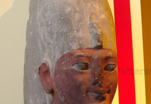 Head of an 18th Dynasty King, possible Ahmose or Amenhotep I